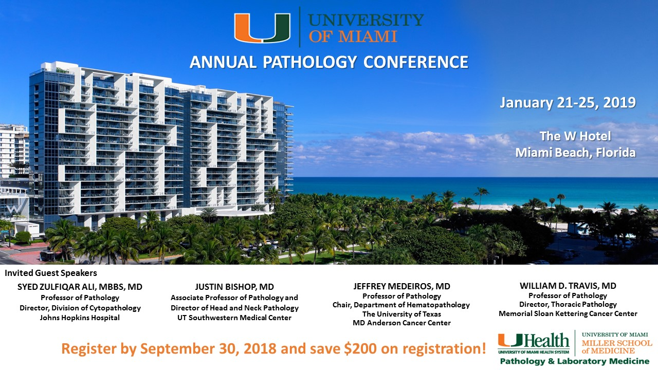 UM Pathology Annual Conference